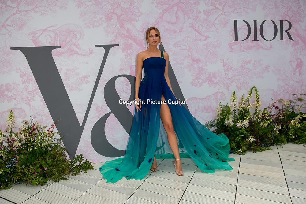 Kimberley Garner arrives at V&A - summer party, on 19 June 2019, London, UK
