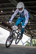 #311 (LOPEZ Felix) FRA at Round 6 of the 2019 UCI BMX Supercross World Cup in Saint-Quentin-En-Yvelines, France