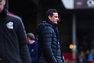 Jack Ross of Sunderland (Manager) before the EFL Sky Bet League 1 match between Scunthorpe United and Sunderland at Glanford Park, Scunthorpe, England on 19 January 2019.