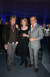 Left to right, NICKY HASLAM, JANE ASHER and GERALD SCARFE at a party to celebrate the 25th anniversary of leading restaurant Le Caprice held at The Serpentine Gallery, London on 3rd October 2006.<br /><br />NON EXCLUSIVE - WORLD RIGHTS