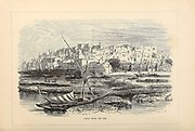 Jaffa from the Sea From the book 'Those holy fields : Palestine, illustrated by pen and pencil' by Manning, Samuel, 1822-1881; Religious Tract Society (Great Britain) Published in 1873