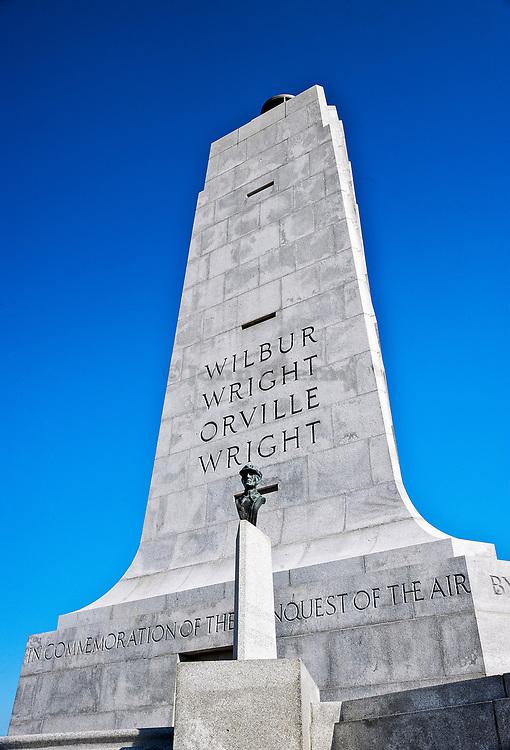 Wright Brothers National Memorial, Manteo, North Carolina, USA.