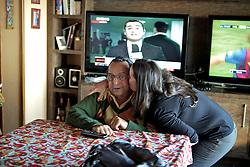 O ex-deputado Carlos Araújo, que foi marido e companheiro por mais de trinta anos de Dilma Rousseff em sua residência no bairro Assunção, em Porto Alegre.  FOTO: Jefferson Bernardes/ Agência Preview