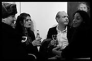 Betsy de Lotbiniere; Ming Lampson; Adrian Dannatt; Jasmine Dellal, Behind the Silence. private view  an exhibition of work by Paul Benney and Simon Edmondson. Serena Morton's Gallery, Ladbroke Grove, W10.  4 November 2015.
