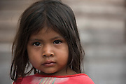 Amerindian girl Parabara<br /> Wai Wai territory, region 9<br /> Parabara<br /> GUYANA<br /> South America
