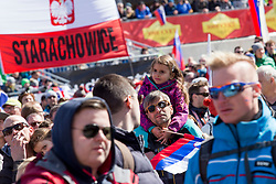 Supporters from Slovenia during Ski Flying Hill Team Competition at Day 3 of FIS Ski Jumping World Cup Final 2018, on March 24, 2018 in Planica, Ratece, Slovenia. Photo by Urban Urbanc / Sportida