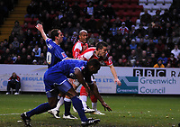 Photo: Tony Oudot/Sportsbeat Images.<br /> Charlton Athletic v Ipswich Town. Coca Cola Championship. 08/12/2007.<br /> Darren Ambrose of Charlton scores his first goal