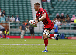May 26, 2019 - Twickenham, England, United Kingdom - Cameron Lewis of Wales.during The HSBC World Rugby Sevens Series 2019 London 7s Challenge Trophy Quarter Final Match 27 between Wales and Japen at Twickenham on 26 May 2019. (Credit Image: © Action Foto Sport/NurPhoto via ZUMA Press)