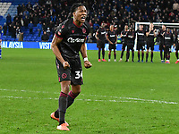Football - 2019 / 2020 Emirates FA Cup - Fourth Round, Replay: Cardiff City vs. Reading<br /> <br /> \34\ celebrates after scoring from his penalty attempt, at the Cardiff City Stadium.<br /> <br /> COLORSPORT/WINSTON BYNORTH