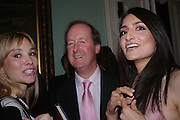 Aurelia Bonito, Francis Northbrook and Renu Mehta. andrew Roberts and Leonie Frieda celebrate the publication of Andrew's 'Waterloo: Napoleon's Last Gamble' and the paperback of Leonie's 'Catherine de Medic'i. English-Speaking Union, Dartmouth House. London. 8 February 2005. ONE TIME USE ONLY - DO NOT ARCHIVE  © Copyright Photograph by Dafydd Jones 66 Stockwell Park Rd. London SW9 0DA Tel 020 7733 0108 www.dafjones.com
