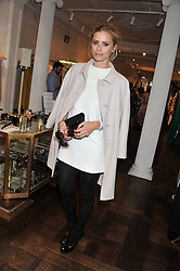 LAURA BAILEY at the Frocks and Rocks party hosted by Alice Temperley and Jade Jagger at Temperley, Bruton Street, London on 25th April 2013.