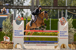 Bergs Johan, NED, Kyfo<br /> Nationaal Kampioenschap KWPN<br /> 5 jarigen springen final<br /> Stal Tops - Valkenswaard 2020<br /> © Hippo Foto - Dirk Caremans<br /> 19/08/2020