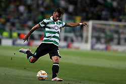 September 20, 2018 - Lisbon, Portugal - Sporting's midfielder Bruno Fernandes from Portugal in action during the UEFA Europa League Group E football match Sporting CP vs Qarabag at Alvalade stadium in Lisbon, on September 20, 2018. (Credit Image: © Pedro Fiuza/NurPhoto/ZUMA Press)