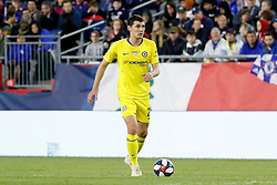 May 15, 2019 - Foxborough, MA, U.S. - FOXBOROUGH, MA - MAY 15: Chelsea FC defender Andreas Christensen (27) during the Final Whistle on Hate match between the New England Revolution and Chelsea Football Club on May 15, 2019, at Gillette Stadium in Foxborough, Massachusetts. (Photo by Fred Kfoury III/Icon Sportswire) (Credit Image: © Fred Kfoury Iii/Icon SMI via ZUMA Press)