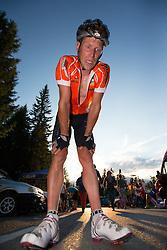 16.08.2013, Tristach, AUT, ECCO Benetton Sprint 2013, im Bild Sieger Rennrad im Ziel. EXPA Pictures © 2013, PhotoCredit: EXPA/ Johann Groder