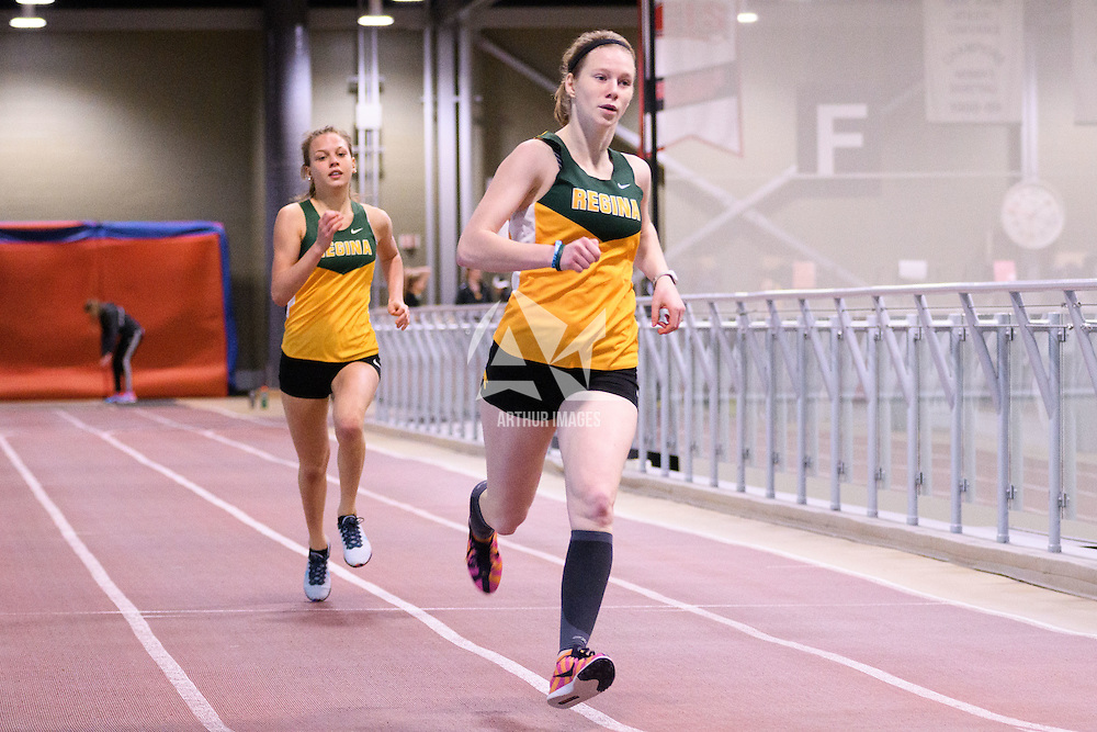 Action during the Cougars Track&Field Intersquad on November 19 at Centre for Kinesiology, Health and Sport. Credit: Arthur Ward/Arthur Images