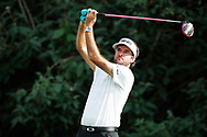 Bubba Watson (USA) tees off on the 18th hole during the first round of the 100th PGA Championship at Bellerive Country Club, St. Louis, Missouri, USA. 8/9/2018.<br /> Picture: Golffile.ie | Brian Spurlock<br /> <br /> All photo usage must carry mandatory copyright credit (© Golffile | Brian Spurlock)