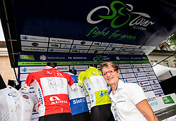 Sonja Gole during 5th Stage of 26th Tour of Slovenia 2019 cycling race between Trebnje and Novo mesto (167,5 km), on June 23, 2019 in Slovenia. Photo by Vid Ponikvar / Sportida