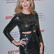 Rachel Riley attends the British Takeaway Awards, in association with Just Eat at London's Savoy Hotel on 12 November 2018, London, UK.
