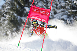 Phil Brown (CAN) competes in 1st Run during Men Giant Slalom race of FIS Alpine Ski World Cup 55th Vitranc Cup 2015, on March 4, 2016 in Kranjska Gora, Slovenia. Photo by Ziga Zupan / Sportida