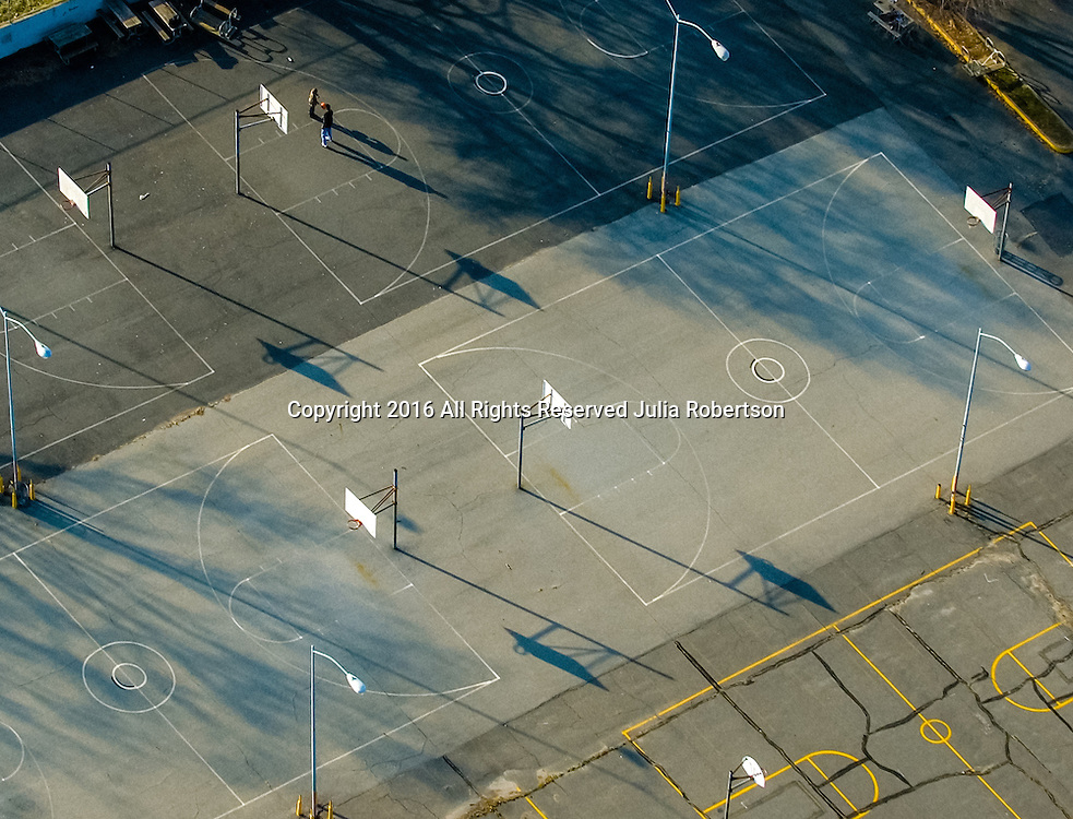 Aerial abstract art