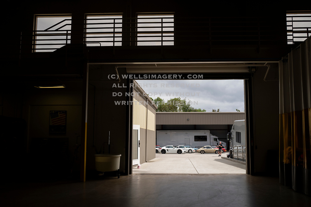 Image of Porsches at Canepa, Scotts Valley, California, America west coast by Randy Wells