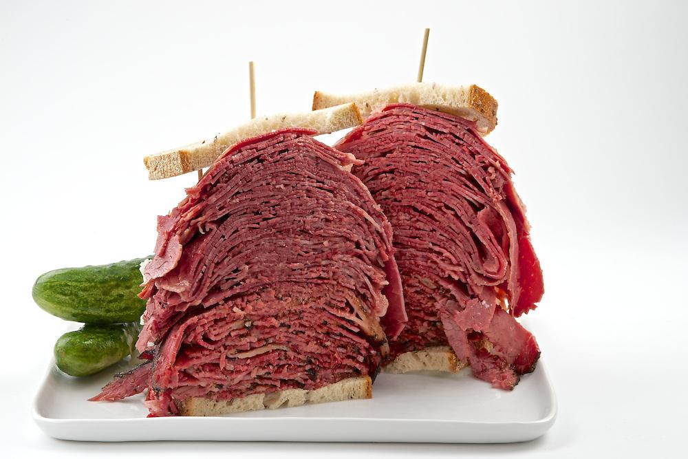 Carnegie Deli's Woody Allen Sandwich