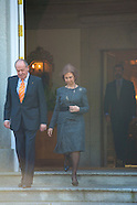 021011 spanish royals luch with  President of the Federal Republic of Germany