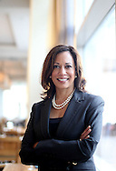 California Attorney General Kamala Harris stands at the California Democrats State Convention in San Diego, CA in San Diego, CA. Harris has helped Californian homeowners by lobbying for a large share of federal funds to help with the massive foreclosure crisis in the state.
