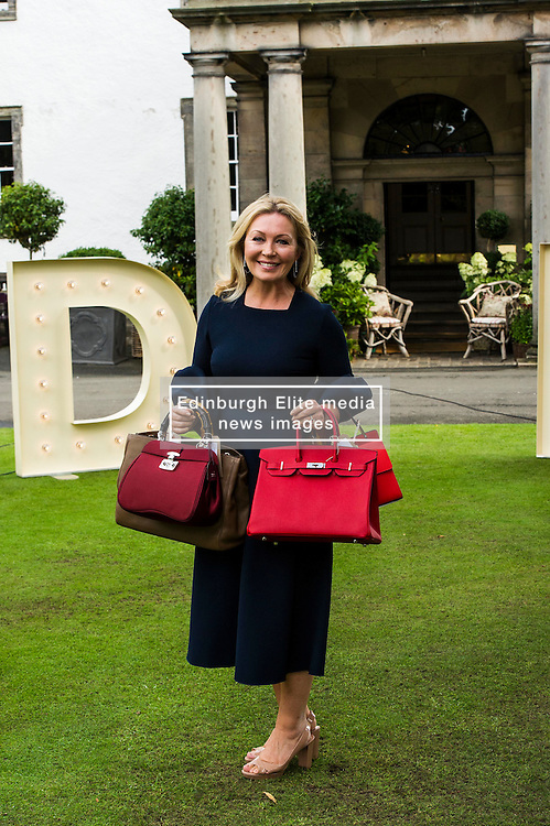 Pictured: Kirsty Young<br /> Judy Murray and Bryan Ferry were among the celebrities attending the Lunch With An Old Bag event in Edinburgh today, which saw 400 women come together to raise money for disadvantaged children<br /> <br /> Ger Harley | EEm 2 September 2016