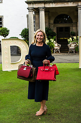 Pictured: Kirsty Young<br /> Judy Murray and Bryan Ferry were among the celebrities attending the Lunch With An Old Bag event in Edinburgh today, which saw 400 women come together to raise money for disadvantaged children<br /> <br /> Ger Harley   EEm 2 September 2016