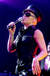 """Pink """"I'm Not Dead""""  Tour at the Hallam FM Arena Sheffield.2nd December 2006.Copyright Paul David Drabble"""