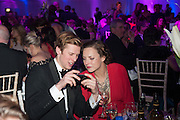 WILLIAM SETH-SMITH; MARTHA SITWELL, Quorn Hunt Ball, Stanford Hall. Standford on Soar. 25 January 2014