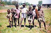 Captioned as 'Basuto Children' South Africa 1979