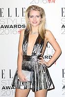 Lottie Moss, ELLE Style Awards 2016, Millbank London UK, 23 February 2016, Photo by Richard Goldschmidt