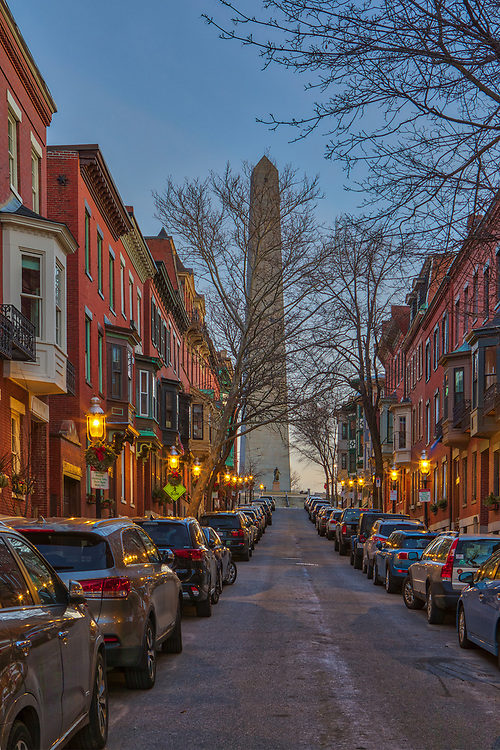 Boston fine art photography images of the historic Bunker Hill Monument, William Prescott and Early 19th century brickwork along Monument Avenue in Charlestown, MA. Bunker Hill Monument is the site of the first major battle of the American Revolution, aka The Battle of Bunker Hill. The Bunker Hill Monument on Breed's Hill is the end of the Boston Freedom Trail. Visiting this historic site and climbing to the top of the pinnacle is an experience itself but the vistas of Boston and surrounding areas are amazing and well worth the trip up the 294 steps.<br /> <br /> This Boston Charlestown photography image of the historic Bunker Hill Monument, William Prescott and colonial brownstones along Monument Avenue is available as museum quality photography prints, canvas prints, acrylic prints or metal prints. Prints may be framed and matted to the individual liking and decorating needs:<br /> <br /> https://juergen-roth.pixels.com/featured/monument-avenue-charlestown-massachusetts-juergen-roth.html<br /> <br /> All photographs are available for digital and print use at www.RothGalleries.com. Please contact me direct with any questions or request.<br /> <br /> Good light and happy photo making!<br /> <br /> My best,<br /> <br /> Juergen<br /> Licensing and Prints: http://www.rothgalleries.com<br /> Instagram: https://www.instagram.com/rothgalleries<br /> Twitter: https://twitter.com/naturefineart<br /> Facebook: https://www.facebook.com/naturefineart