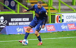 Jordan Bowery of Mansfield Town- Mandatory by-line: Nizaam Jones/JMP - 14/11/2020 - FOOTBALL - innocent New Lawn Stadium - Nailsworth, England - Forest Green Rovers v Mansfield Town - Sky Bet League Two