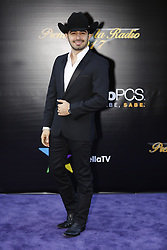 HOLLYWOOD, CA - NOVEMBER 09: Joss Favela attends the 18th edition of 'Los Premios de la Radio' held at the Dolby Theater on November 09, 2017 in Los Angeles, California. Byline, credit, TV usage, web usage or linkback must read SILVEXPHOTO.COM. Failure to byline correctly will incur double the agreed fee. Tel: +1 714 504 6870.