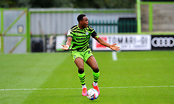 Udoka Godwin-Malife of Forest Green Rovers shows his frustration- Mandatory by-line: Nizaam Jones/JMP - 17/10/2020 - FOOTBALL - innocent New Lawn Stadium - Nailsworth, England - Forest Green Rovers v Stevenage - Sky Bet League Two