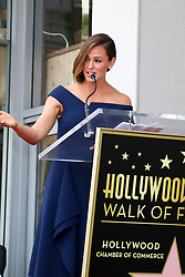 Jennifer Garner Honored With Star On The Hollywood Walk Of Fame on August 20, 2018 in Hollywood, California. 20 Aug 2018 Pictured: Jennifer Garner. Photo credit: @parisamichelle / MEGA TheMegaAgency.com +1 888 505 6342