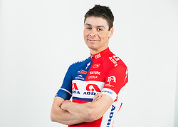 Jure Golcer during photo session of Continental cycling team KK Adria Mobil for season 2016, on February 15, 2016 in Novo mesto, Slovenia. Photo by Vid Ponikvar / Sportida