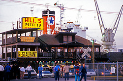 Hill's Pier 19 Restaurant in Galveston Texas
