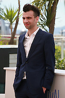 Jay Baruchel at the photocall for the film How to Train Your Dragon 2 at the 67th Cannes Film Festival, Friday 16th May 2014, Cannes, France.