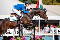 Ahlmann Christian, GER, Luke Lemon<br /> FEI WBFSH Jumping World Breeding Championship for young horses Zangersheide Lanaken 2019<br /> © Hippo Foto - Dirk Caremans