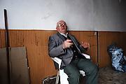 Anziano in un circolo privato. Troia 29 Maggio 2014.  Christian Mantuano / OneShot