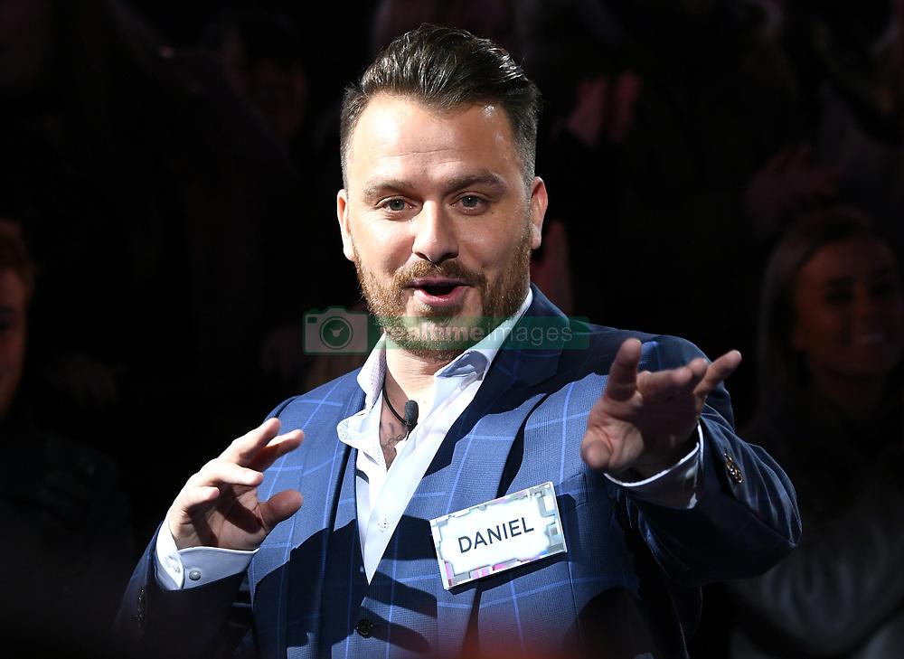 Daniel O'Reilly aka Dapper Laughs entering the Celebrity Big Brother House 2018, Elstree Studios, Hertfordshire. Photo credit should read: Doug Peters/EMPICS Entertainment