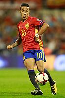 Spain's Thiago Alcantara during FIFA World Cup 2018 Qualifying Round match. October 6,2017.(ALTERPHOTOS/Acero)