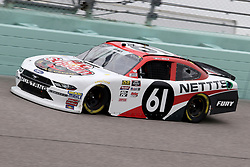 November 16, 2018 - Homestead, FL, U.S. - HOMESTEAD, FL - NOVEMBER 16: Kaz Grala, driver of the #61 NETTS/Hot Scream Ford, during practice for the NASCAR Xfinity Series playoff race, the Ford EcoBoost 300 on November 16, 2018, at Homestead-Miami Speedway in Homestead, FL. (Photo by Malcolm Hope/Icon Sportswire) (Credit Image: © Malcolm Hope/Icon SMI via ZUMA Press)