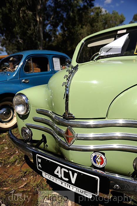 Renault 4CV. 2011 Classic Car Show, Whiteman Park, Perth, Western Australia. March 20, 2011