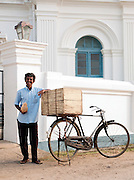 Fruit seller in Galle, Sri Lanka